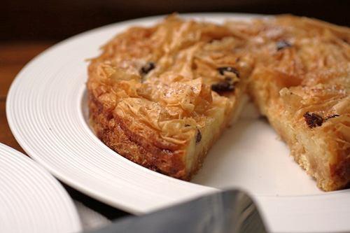 Bánh tart nướng từ bánh tráng sữa