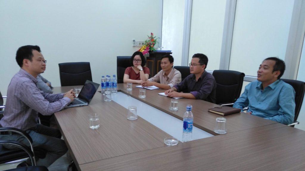 Thảo luận về hợp tác với công ty Vitto