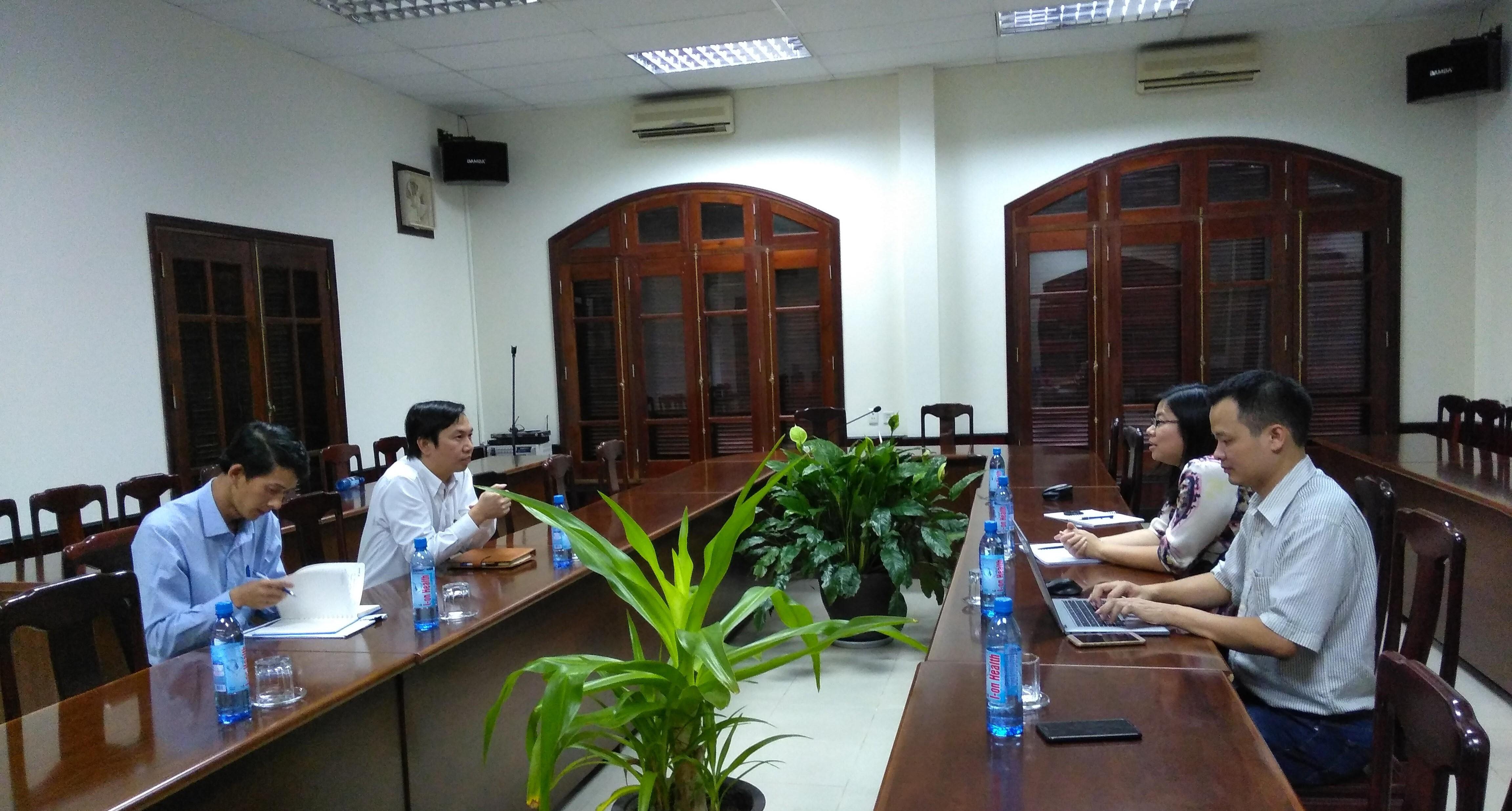 HEPCO thảo luận hợp tác đào tạo