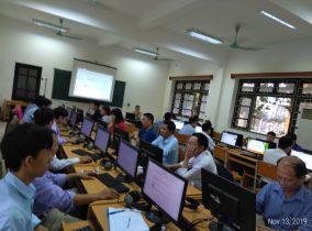 Khóa bồi dưỡng 'Thực hành khai thác tài nguyên giáo dục mở' ở trường Đại học Sư phạm Kỹ thuật Nam Định