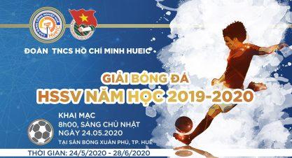 Giải bóng đá HSSV 2020