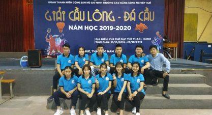 Giải cầu lông bóng bàn Sinh viên 2020